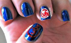 Chicago Cubs Nails