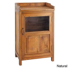 Country-Style Display Cabinet - Overstock™ Shopping - Great Deals on Antique Revival Coffee, Sofa & End Tables