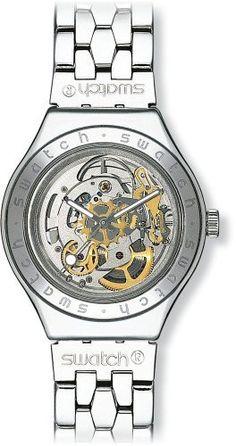Vous recherchez une montre automatique ? Découvrez notre large sélection pour homme ou femme.  Swatch - YAS100G - Body & Soul - Montre Mixte - Automatique Analogique - Cadran Squelette - Bracelet Acier Argent de Swatch, http://www.amazon.fr/dp/B000MLNUBI/ref=cm_sw_r_pi_dp_nLZdsb10ZZ5K9