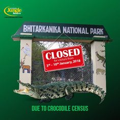 The Resort will remain open to welcome guests for sightseeing of Dhamara Port, Udabali Sea Beach, Pentha & Barunei Sea Beach during this period. The National Park will remain closed for visitors from 3rd-10th January,2018 due to crocodile census. For more info, visit http://www.bhitarkanikanationalpark.com/ #BhitarkanikaJungleResorts