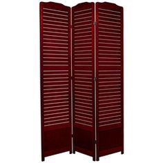 7 ft. Tall Venetian Room Screen (more panels & finishes)