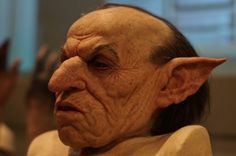 The facial prosthetics for the character of Griphook, the head of the Gringotts goblin bank – very realistic (within the bounds of it being a non-real character) stuff. Description from jamestravelphotos.wordpress.com. I searched for this on bing.com/images
