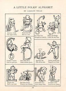 The Vintage Moth..: Free Vintage Alphabet- Little Folks