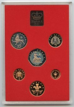 Item specifics    									 			Year:   												1981     							 							  1981 Great Britain & Northern Ireland PROOF Coin Set Collection – AL28  Price : $16.00  Ends on : 3 weeks Order Now