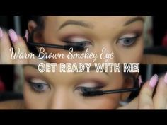 Get Ready With Me! Warm Brown Smokey Eye + Hair + OOTD (Back to school) - One of the best YouTube beauty girls out there! My favorite <3