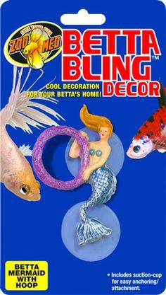 Betta Bling Mermaid With Hoop