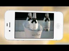 la nouvelle App de Moët Ice Impérial pour styliser ses photos à la Instagram, créer un film et découvrir le champagne Ice Impérial