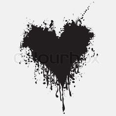 Vector of 'Graphic grunge heart, ink splatter vector.' But in peach or light pink Studio Background Images, Banner Background Images, Flower Background Wallpaper, Blur Background In Photoshop, Splatter Tattoo, Ink Splatter, Broken Heart Drawings, Paint Splash Background, Pop Art Wallpaper
