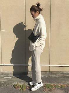 JOURNAL STANDARD relumeのニット・セーター「アルパカリリヤーンタートルネックプルオーバー_#」を使ったyanのコーディネートです。WEARはモデル・俳優・ショップスタッフなどの着こなしをチェックできるファッションコーディネートサイトです。