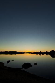 ✮ Sunset at Embalse de Ayuela, Extremadura, Spain