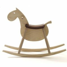 """Holly Becker of decor8.com picked the products from qiphome.com she loves. Rocking horse Paripa: """"What a fun rocking horse that would last for years and could be passed down to future children and still remain sturdy and stylish!"""""""
