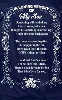 In Loving Memory Grieving Mother Losing A Child Memories Quotes