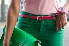Clearly the product of my upbringing, I love preppy colour combos. lol