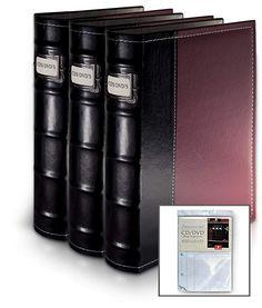 Burgundy DVD Organization Binders-holds 176 DVD's (w/extra insert) Review