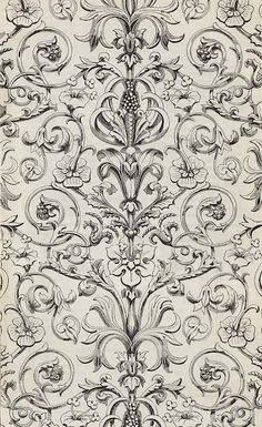 Turner and sons #Baroque #Print #Pattern