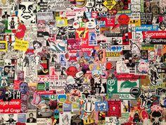 ArtSlant Street - Paint Paste Sticker: Street Art at the Chicago Cultural Center