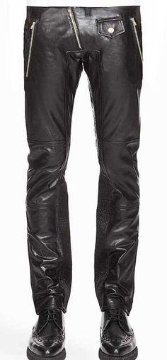 710b5e4b6b60 Normandie Leather Biker Jeans - 50 Colors  Normandie Leather Biker Jeans  -   170.00
