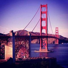 The mighty span of the Golden Gate Bridge, San Francisco, California.  (Image by @elly_alyssa_jones.)