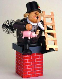 Smoker Edge stool - Chimney sweeper - 16 cm / 6 inch $63.00 plus shipping