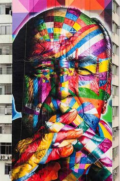 Colorful Murals by Eduardo Kobra | Abduzeedo Design Inspiration & Tutorials