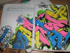 graffiti blackbook by ~apple117 on deviantART