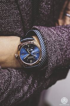 "watchanish: "" Panerai Radiomir 8 Days GMT Oro Roso Special Edition. More of our footage at WatchAnish.com. """