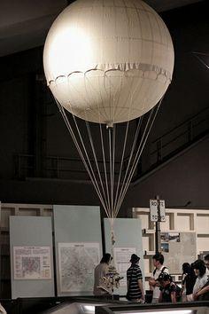 Model War time balloon bomber