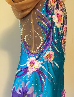 Etsy の Competition Rhythmic Leotard SOLD by Savalia