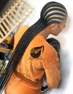 Braided Cornrow Hairstyles, Feed In Braids Hairstyles, Braids Hairstyles Pictures, Braided Hairstyles For Black Women, My Hairstyle, Canerow Hairstyles, Straight Back Hairstyles, Straight Back Cornrows, Cornrow Braid Styles