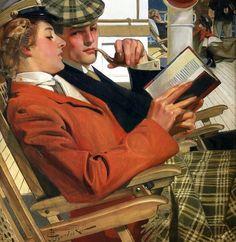 Reading and Art: Joseph Christian Leyendecker