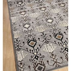 E Carpet Gallery Ikat Lantern Light Grey Rug. Rugs USA Labor Day Sale up to 80% Off! Area rug, carpet, design, style, home decor, interior design, pattern, trend, statement, fall, cozy, sale, discount, free shipping.