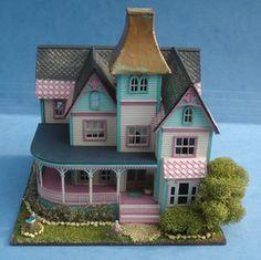 1:144 inch scale dollhouse (a 1-inch scale dollhouse for a 1-inch scale dollhouse)  I always loved mine!