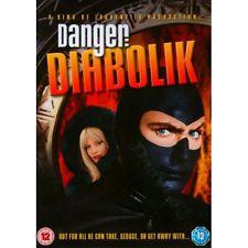 Danger: Diabolik NEW PAL Classic DVD John Phillip Law