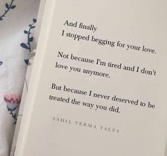 """""""i never deserved to be treated the way you did. Bio Quotes, Karma Quotes, Hurt Quotes, Reality Quotes, Words Quotes, Drake Quotes, Crush Quotes, Wisdom Quotes, Good Thoughts Quotes"""