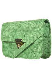 green snake twistlock bag $50