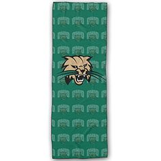 Ohio Bobcats Logo Yoga Mat Towel * More info could be found at the image url.  This link participates in Amazon Service LLC Associates Program, a program designed to let participant earn advertising fees by advertising and linking to Amazon.com.