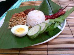 Nasi lemak Nasi Lemak, Cooking Classes, Cobb Salad, Food, Essen, Meals, Yemek, Eten