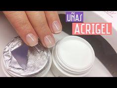 Uñas de Acrigel | Probando la técnica - YouTube