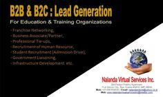 B2B & B2C Lead Generation Services.