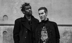 'I felt that [with] Mezzanine, the procedure had to be ripped up, the rulebook had to be changed': Robert del Naja, right, and Grant Marshall. Adam Curtis, Massive Attack, All The Young Dudes, Power Of Social Media, Trip Hop, Attention Span, Music Film, Post Punk, Twenty One