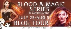 With Love for Books: Blood & Magic series by Danielle Annett - Book Rev...
