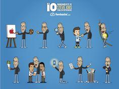Los 10 mandamientos de Steve Jobs para entrepreneurs.