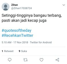 Quotes Lucu, Jokes Quotes, Book Quotes, Me Quotes, Funny Tweets Twitter, Twitter Quotes, Tweet Quotes, Quotes Indonesia, Good Jokes