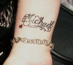 other sons name michael | Tattoos | Pinterest | Sons, Names and ...