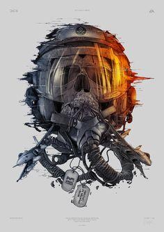 Battlefield 3 Tribute in Illustration