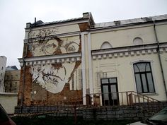 Vhils in Moscow