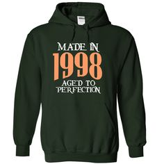 made in 1998 aged to perfection T-Shirts, Hoodies. Check Price Now ==►…