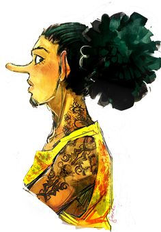 Usopp, woo who would think he could looks good :P