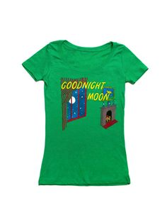 Look what I found from Out of Print! Goodnight Moon women's book t-shirt – Out of Print #OutofPrintClothing