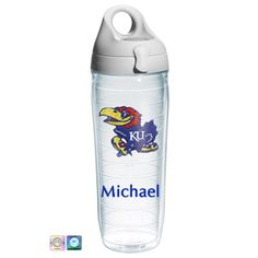 University of Kansas Personalized Tervis Water Bottle